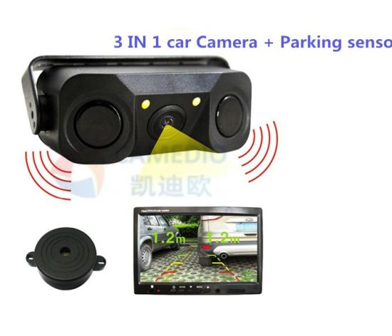 3 in 1 Video Car Parking Sensor Systems pictures & photos