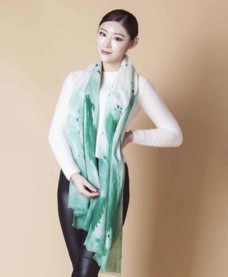 100%Silk Print Scarf