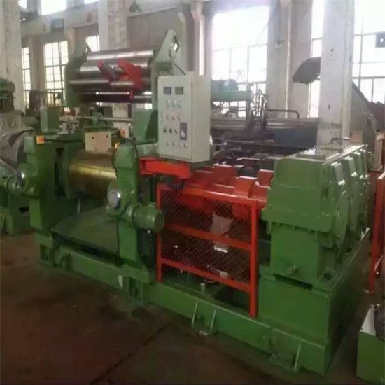 Reclaimed Rubber Processing Mixing Mill/Open Type Rubber Mixing Mill pictures & photos
