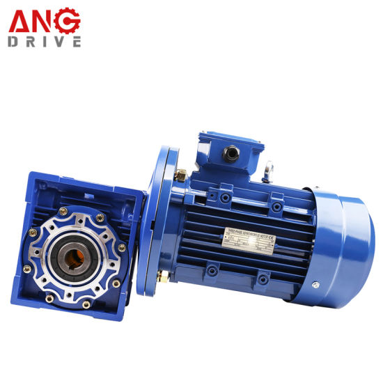 Nmrv Right Angle 90 Degree Transmission Worm Drive Gear Box Gearbox with Motor