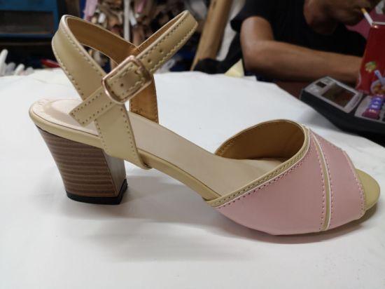 Lady' High Heel Dress Shoes Women Sandal