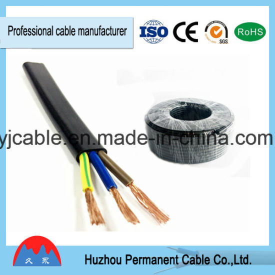 china copper electrical wire cable pvc insulated flexible flat wire rh yjcable en made in china com
