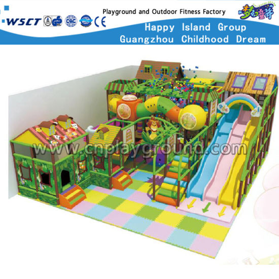 Animal Theme Park Naughty Castle Indoor Playground (HD-8802) pictures & photos