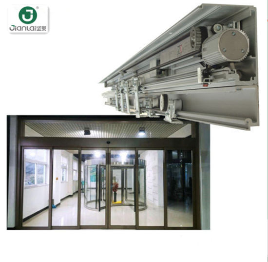 Commercial Automatic Operate Automatic Electric Sliding Glass Door