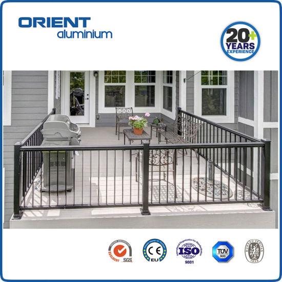 Aluminium Handrail Aluminum Balcony Railing System