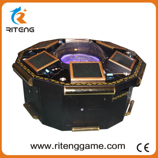 Electronic Roulette Machine Video Roulette Table for Sale pictures & photos