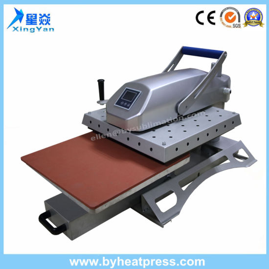 LCD Swing Away Heat Press Transfer Machine pictures & photos