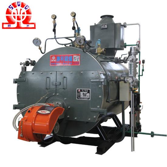 China 3 Pass Stainless Steel Smoke Tube Diesel Fired Steam Boiler ...