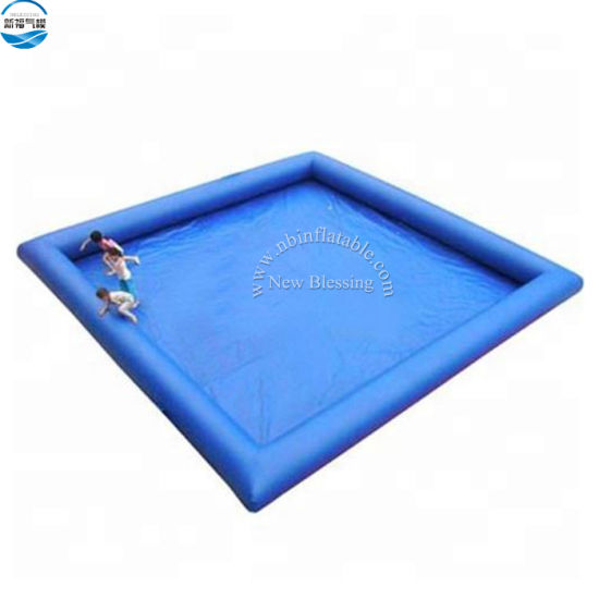 Ce Top Quality Wholesale Durable PVC Inflatable Swimming Pool Inflatable Above Ground Pools on Amusement Park