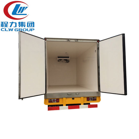 Classic Design Dongfeng 4X2 Refrigerator Truck for Sale pictures & photos