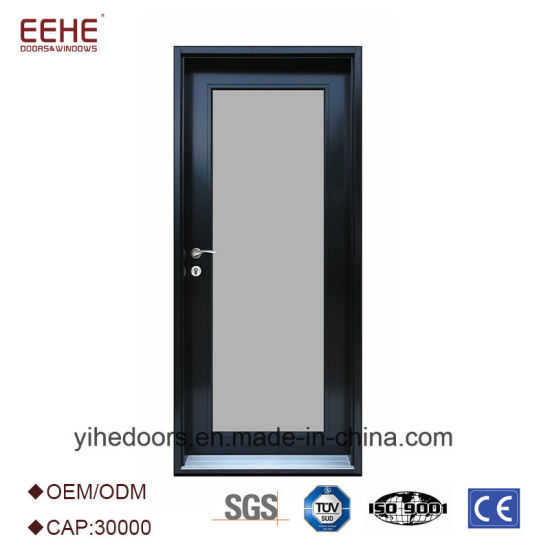 China Frosted Glass Toilet Door Design Aluminium Bathroom Door New Bathroom Doors Design