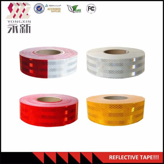 DOT C2 Reflective Decal Strip Sticker Tape Truck Auto Safety 8 Pc ~ NEW