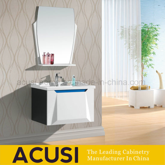 Plywood Modern Style Waterproof Wall Hanging Bathroom Vanity Combo Acs1 L23