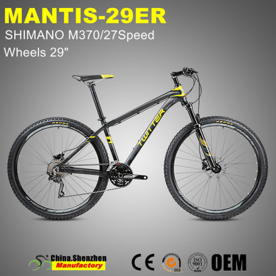 Mantis Shimano M6000-30speed Aluminum Alloy Mountain Bike 29er pictures & photos