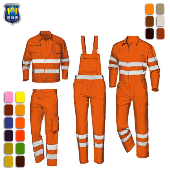 OEM Work Safety Clothes Industrial Work Uniform pictures & photos