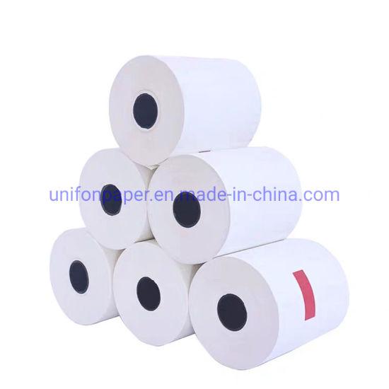 Unifon Manufacturer 80mmx80mm Thermal Paper Till Rolls for POS