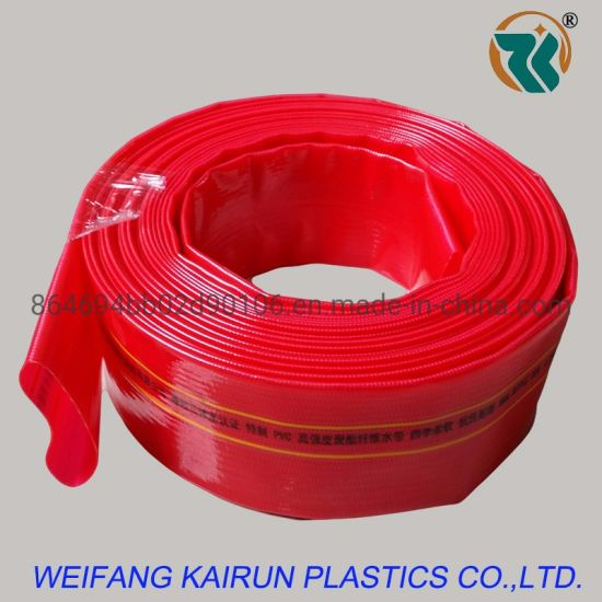 40mm Cuustomized 4 Bar 6bar Pvcagriculture Irrigation Lay Flat Water