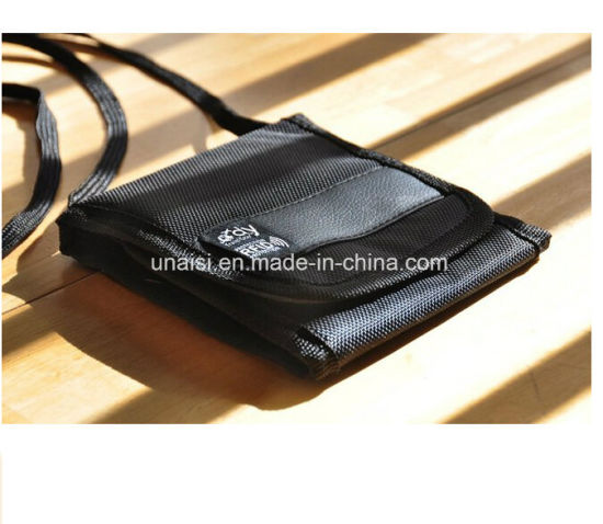 28e916836314 China Travel Security Under Clothes Money Passport Pouch Neck Wallet ...
