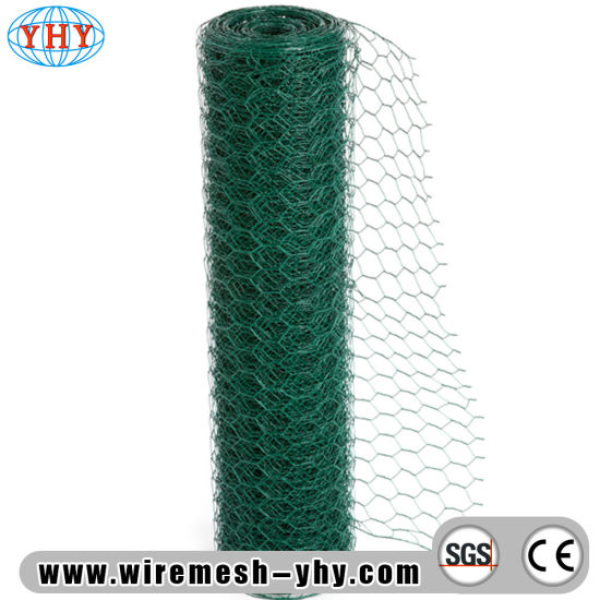 China Rabbit Chicken Netting PVC Coated Hexagonal Wire Mesh - China ...