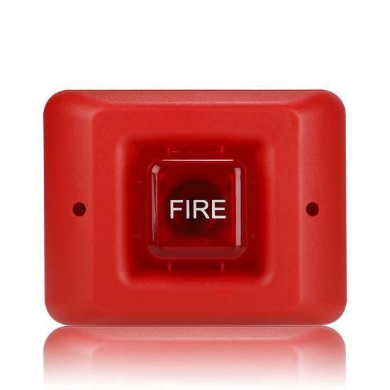 Home Alarm Horn Fire Alarm Strobe Sounder