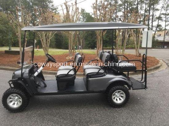 Hot Sell Cool Design Ezgo L6 - Gas Metallic Charcoal Golf Cart