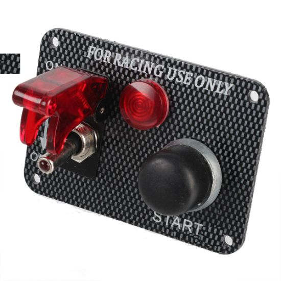 china 12v racing car ignition switch panel engine start push button points and condenser diagram 12v racing car ignition switch panel engine start push button red led toggle