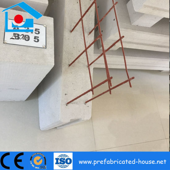 China Long Life Time Steel Prefabricated Frame Building with Alc ...
