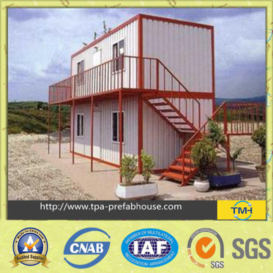 Container House for Labor Accommodation pictures & photos