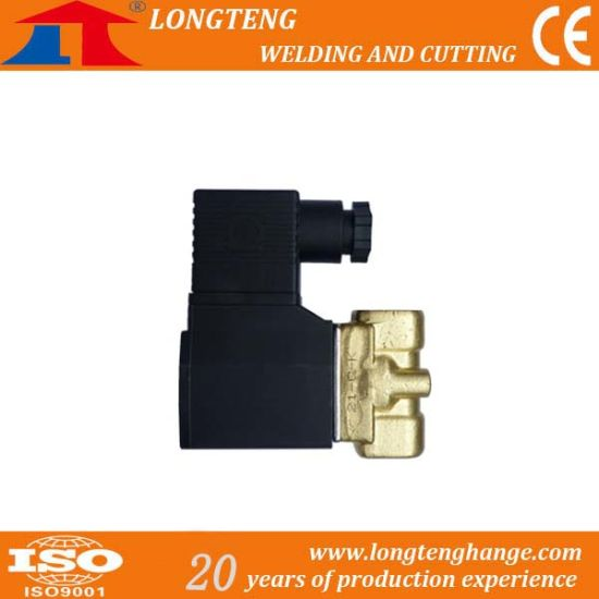 AC220V Solenoid Valve for Gas Separation Panel, CNC Flame Cutter Spare Parts