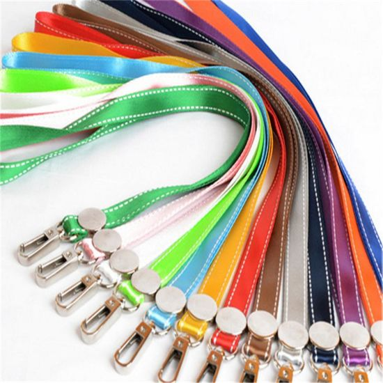 Customized Promotional Printed Nylon Lanyard pictures & photos