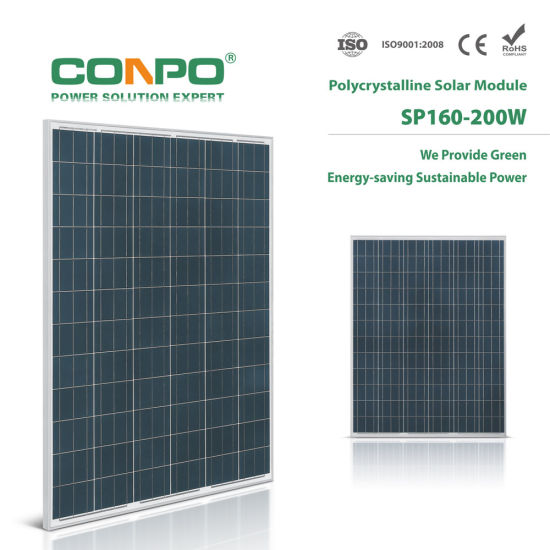 Sp-160W~200W Poly Solar Panel pictures & photos