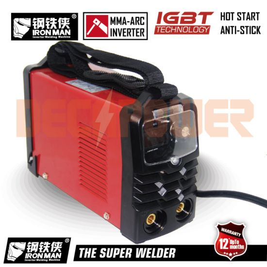 China Mini Arc 200A Anti Stick Welder DC Inverter Welding Machine