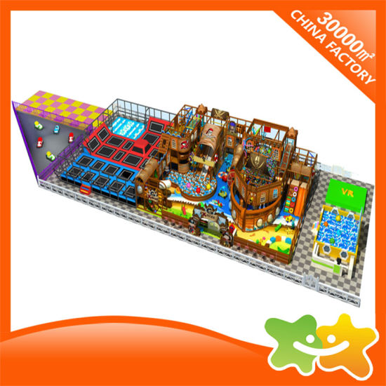 Pirate Ship Indoor Soft Sport Equipment Children Indoor Playground for Sale pictures & photos