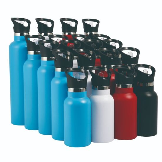 Flask Double Wall Vacuum Insulated 18/8 304 Food Grade Stainless Steel Water Bottle