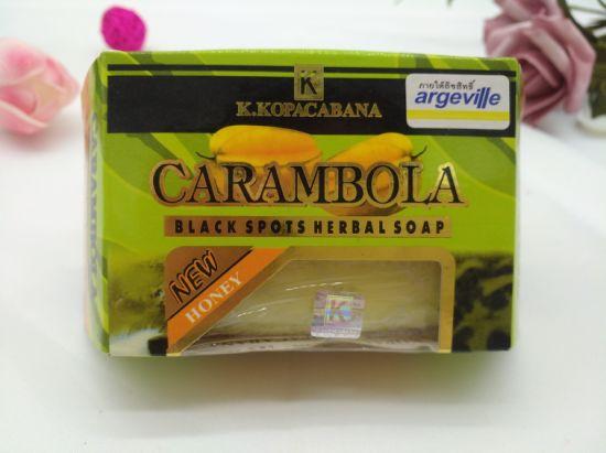 OEM New Original Carambola Black Spots Herbal Bath Soap