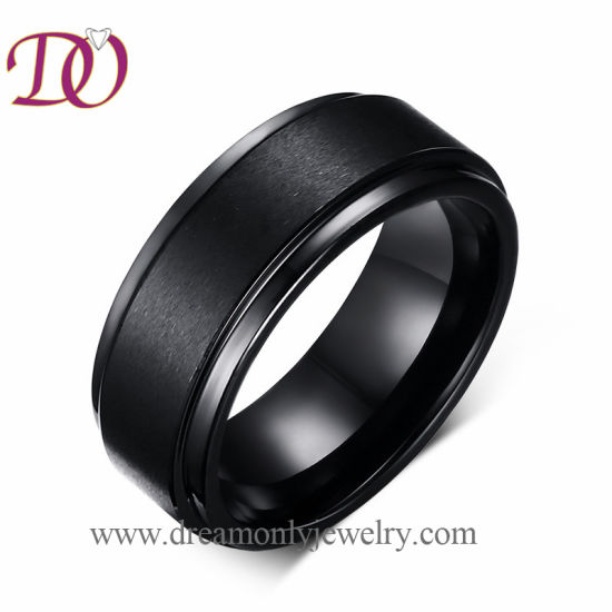 5fbc28a66c Wholesale Tungsten Ring Mens Jewelry Ring, Simple New Design Black Tungsten  Finger Ring