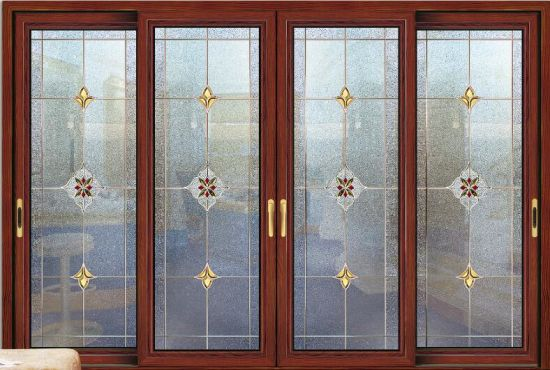 China Interior Double Glazing Aluminum Sliding Door China