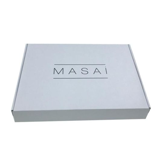 Full Color Printed Paper White Clothing Box
