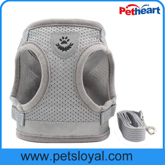 Factory Wholesale Cheap Pet Dog Harness with Lead pictures & photos