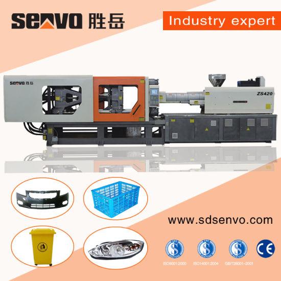 460ton Servo Precise Horizontal Pet Preform Making Plastic Injection Molding Moulding Machine Machinery