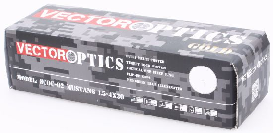 Vector Optics Mustang 1.5-4X 30mm Ar15 M4 Tactical Rifle Scope pictures & photos