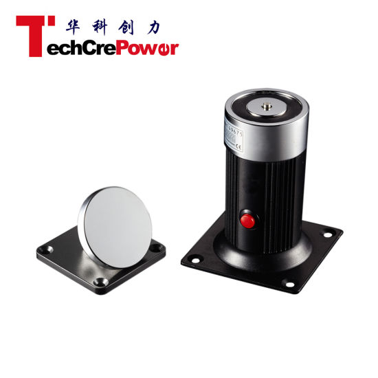 Dh-602L High Quality Access Control Electric Floor Mount Door Holder pictures & photos