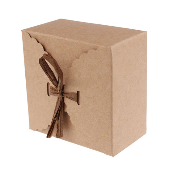 Retro Mini Kraft Paper Box Diy Wedding Gift Favor Boxes Party Candy Box