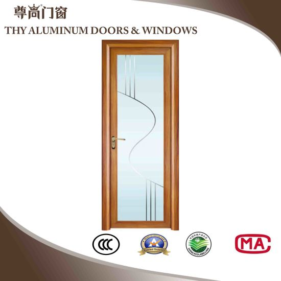 China Aluminum Interior Doors Casement Doors Bathroom Doors China
