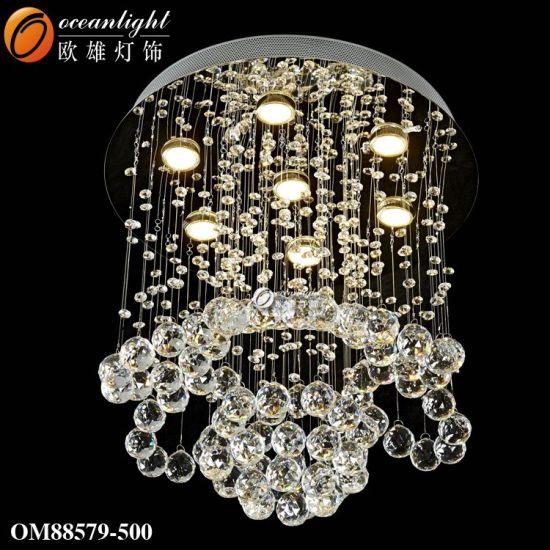 Luxury LED Hanging Lamp Modern Chandelier Pendant Lighting with Hotel