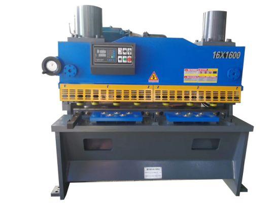 China Low Noise Sheet Metal Plate Cutting Shearing Machine