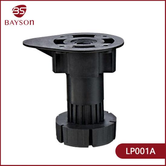 PP or ABS Plastic Plinch Adjustable Kitchen Cabinet Leg