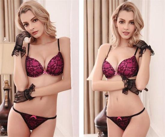 6a413f2882 China 2018 New Comfort Bra Set Ladies Sexy Net Bra Sets - China Bra ...
