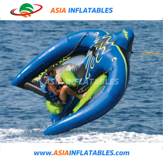 Summer Water Splash Game Inflatable Flying Manta, Water Flying Ski Tube pictures & photos