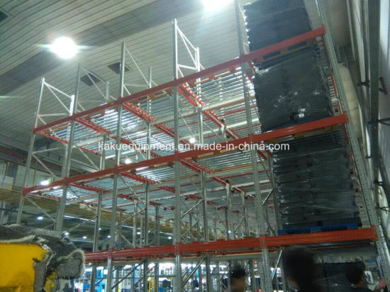 Warehouse Storage Heavy Duty Steel Roller Flow Gravity Shelving pictures & photos